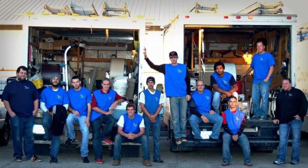 Exterior Contractor Crew Photo