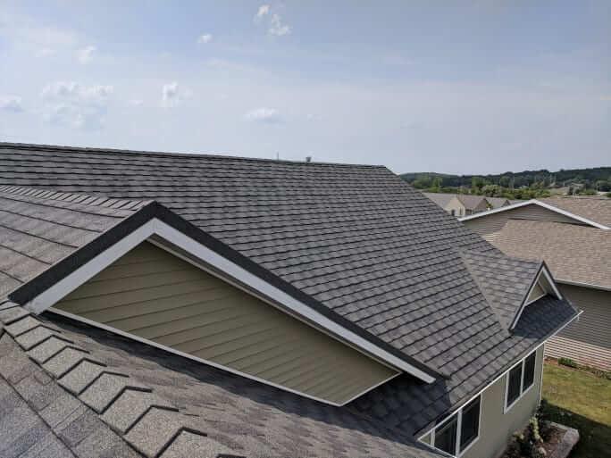 Stone Coated Steel Roof Closeup