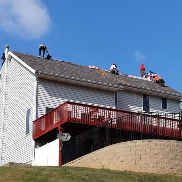 Finishing Shingle Roofing Project
