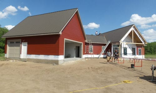 Painted Steel on New Construction