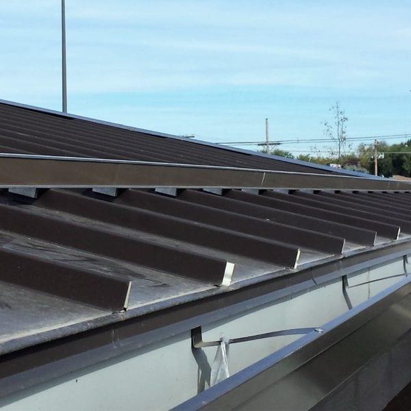 Underlayment Install Painted Steel
