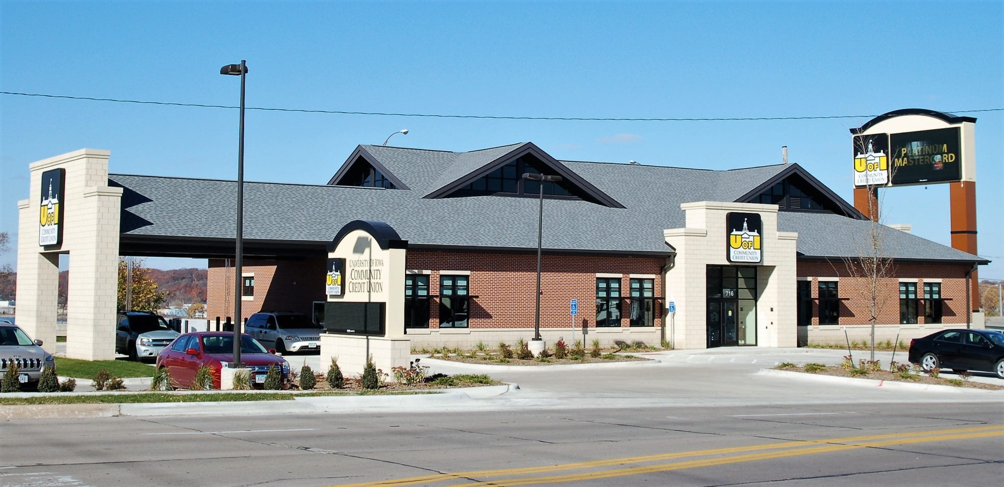 University Of Iowa Credit Union Shingle Roof Tri County