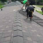 Shingle finishing touches