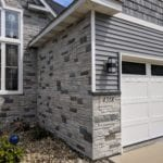 Siding and Stone Work