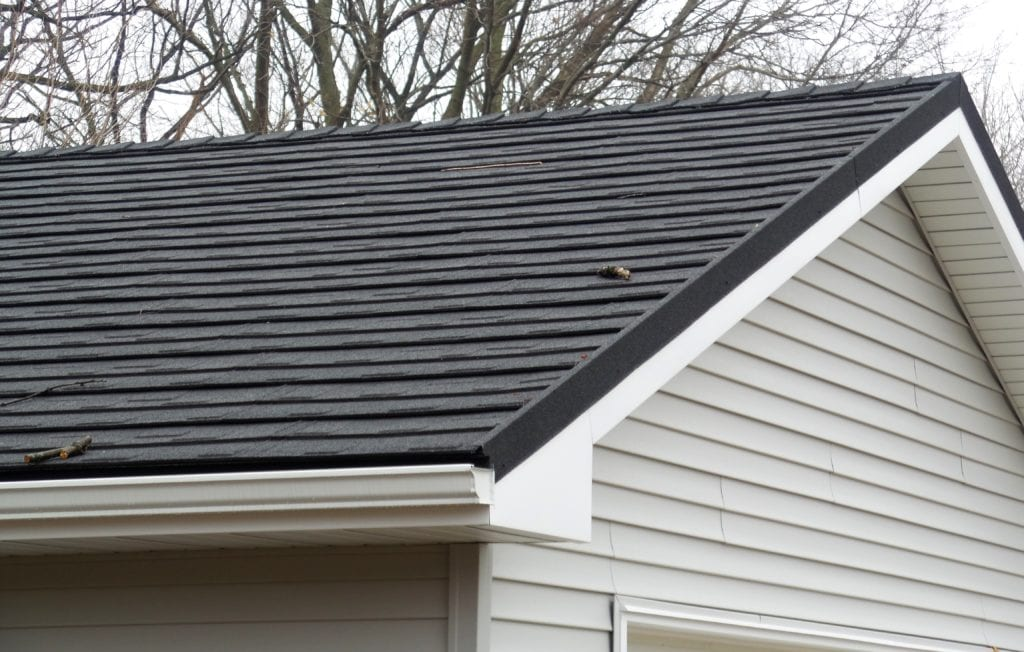Black Stone Coated Steel Shingle