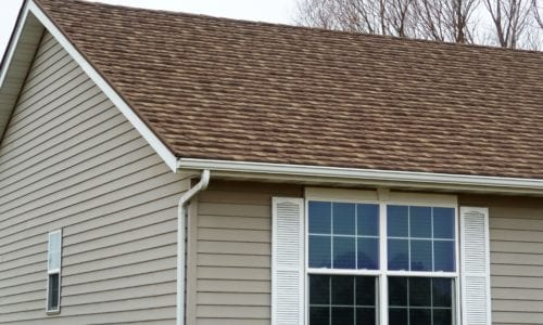 tan stone coated steel roof