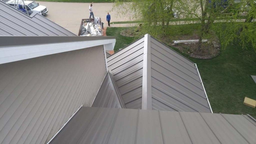 Grey Steel Roof