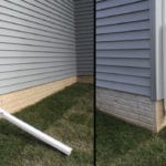 Hinged Downspout