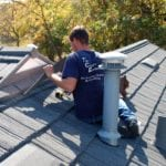 Stone Shingle Finishing Install