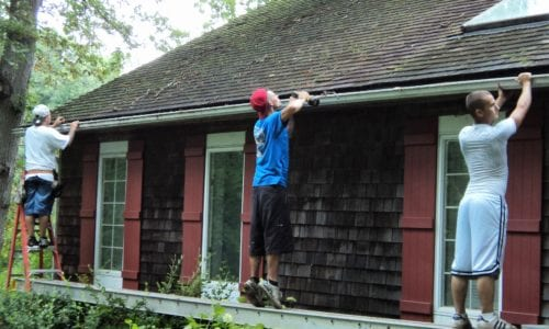 Removing old Gutters