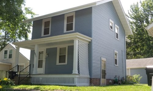 New siding and Gutters